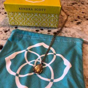 Rose gold Kira Kendra Scott necklace